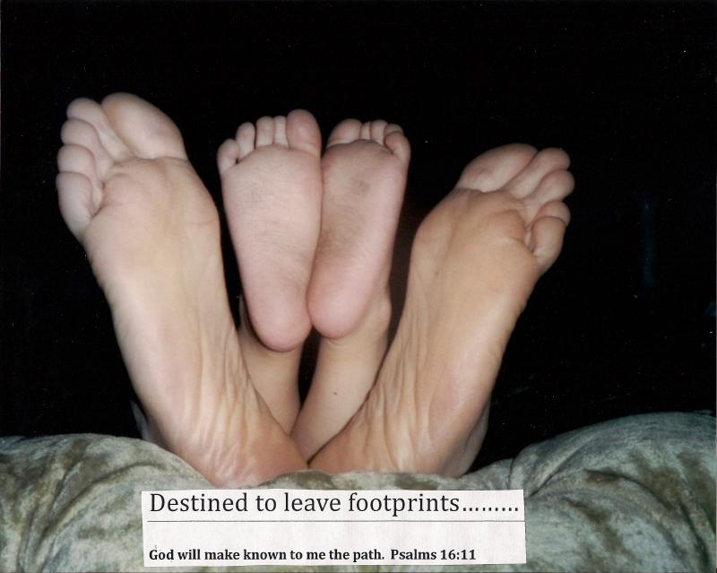 Destined to Leave Footprints